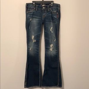 """Silver Jeans Frances 22"""" Flare"""